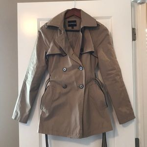 Taupe Trench Coat - Express